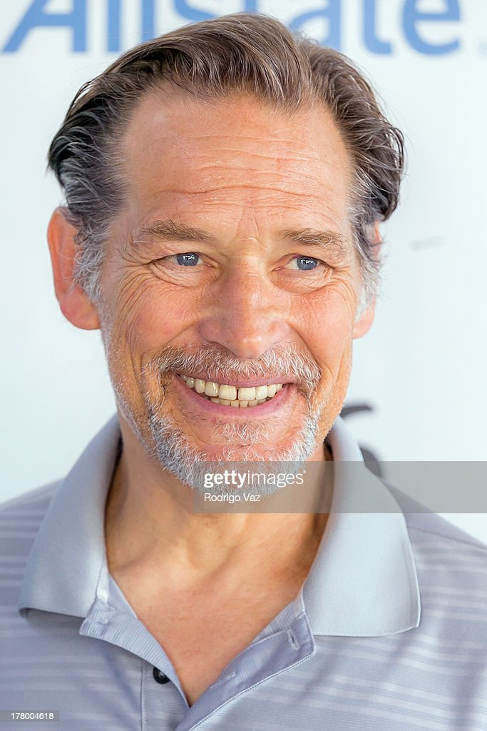 Actor <a gi-track='captionPersonalityLinkClicked' href=/galleries/search?phrase=James+Remar&family=editorial&specificpeople=1567743 ng-click='$event.stopPropagation()'>James Remar</a> attends the 2nd Annual Dennis Haysbert Humanitarian Foundation Celebrity Golf Classic at Lakeside Golf Club on August 26, 2013 in Burbank, California.