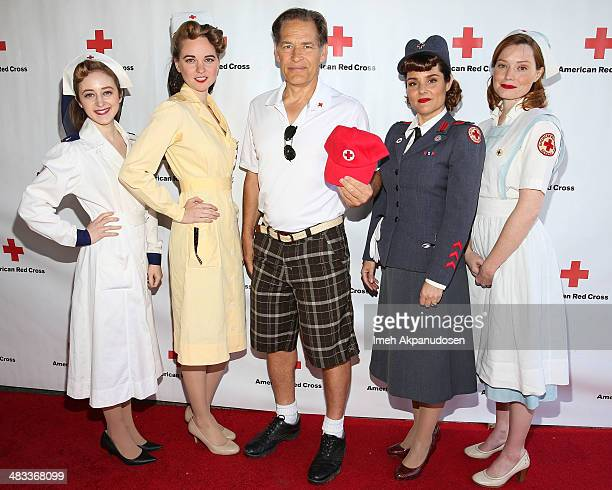 Actor James Remar attends the Inaugural American Red Cross Celebrity Golf Classic at Lakeside Golf Club on April 7 2014 in Toluca Lake California