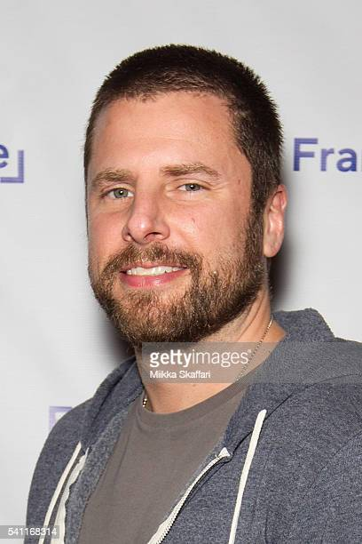 Actor James Roday arrives at the premiere of 'Pushing Dead' at Frameline40 Film Festival on June 18 2016 in San Francisco California