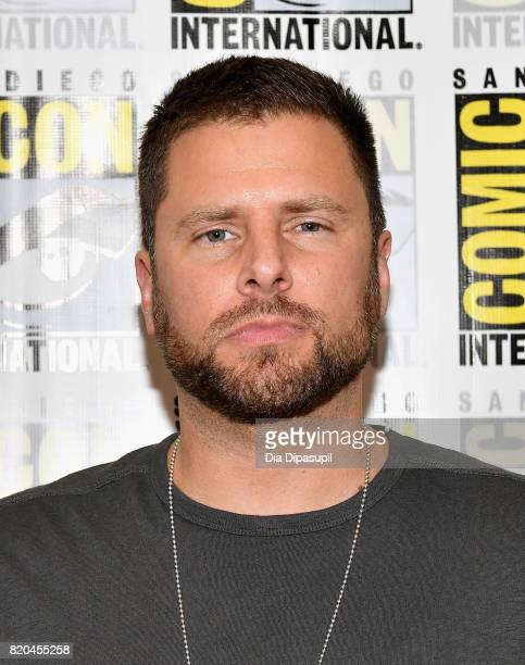 Actor James Roday at the 'Psych' Press Line during ComicCon International 2017 at Hilton Bayfront on July 21 2017 in San Diego California