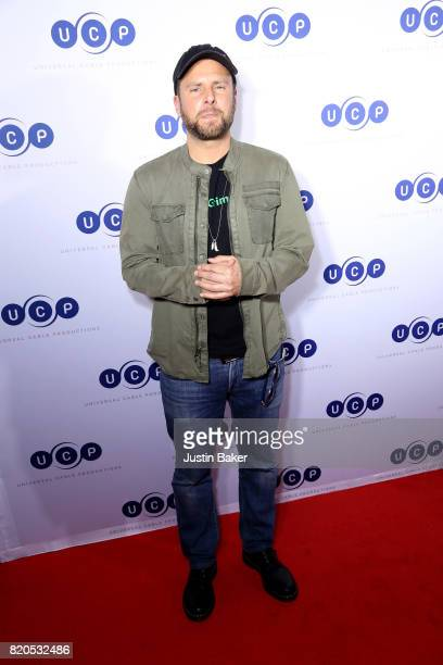 Actor James Roday attends Universal Cable Productions Annual ComicCon Celebration at Omnia Nightclub on July 21 2017 in San Diego California