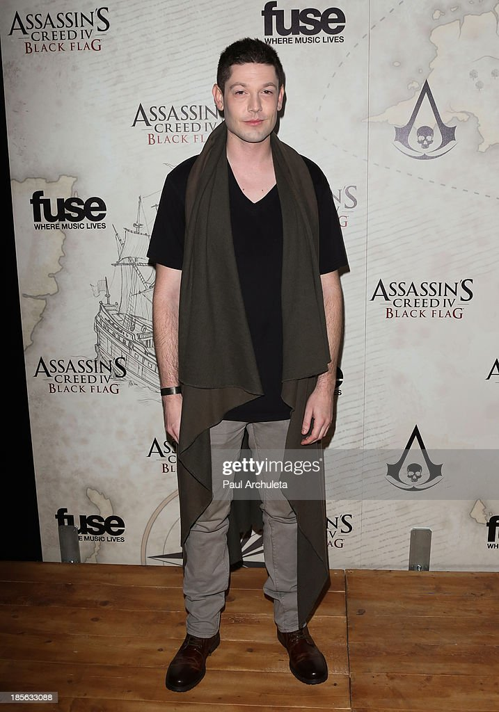 Actor James Rustin attends the launch party for Assassin's Creed IV Black Flag at Greystone Manor Supperclub on October 22, 2013 in West Hollywood, California.