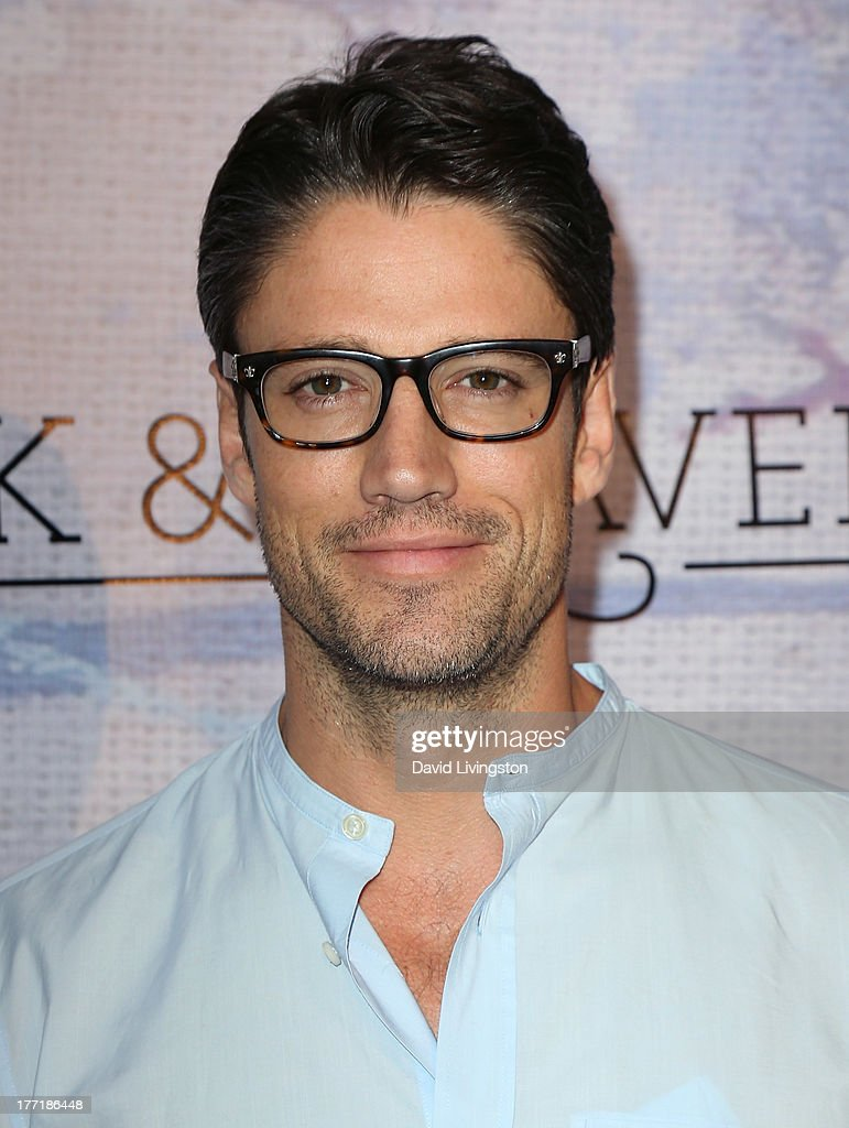 Actor James Scott attends the opening night of Billy Zane's 'Seize The Day Bed' solo art exhibition at G+ Gulla Jonsdottir Design on August 21, 2013 in Los Angeles, California.