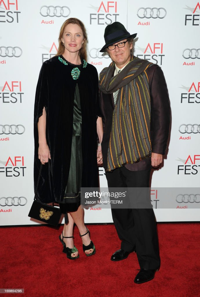 Actor <a gi-track='captionPersonalityLinkClicked' href=/galleries/search?phrase=James+Spader&family=editorial&specificpeople=544640 ng-click='$event.stopPropagation()'>James Spader</a> (R) arrives at the 'Lincoln' premiere during AFI Fest 2012 presented by Audi at Grauman's Chinese Theatre on November 8, 2012 in Hollywood, California.