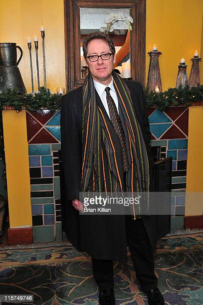 Actor James Spader attends the Broadway opening of 'Race' after party at the Redeye Grill on December 6 2009 in New York City