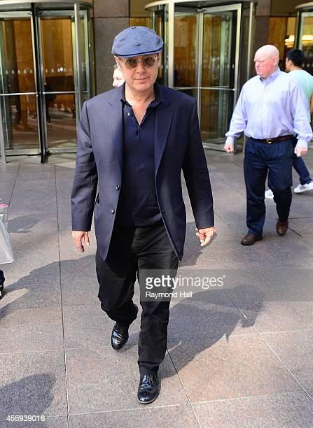 Actor James Spader is seen in Midtown on September 22 2014 in New York City