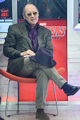 Actor James Spader tapes an intervew at 'Good Morning America' at the ABC Times Square Studios on April 27 2015 in New York City