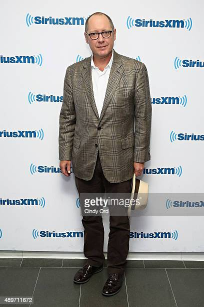 Actor James Spader visits the SiriusXM Studios on September 23 2015 in New York City