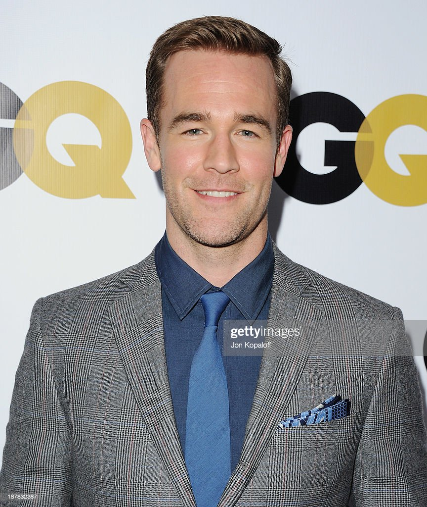 Actor James Van Der Beek arrives at GQ Celebrates The 2013 'Men Of The Year' at The Wilshire Ebell Theatre on November 12, 2013 in Los Angeles, California.