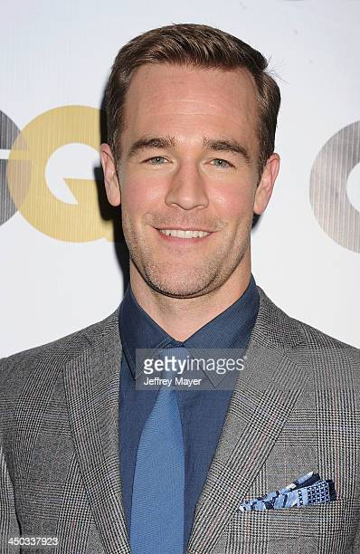 Actor James Van Der Beek arrives at the 2013 GQ Men Of The Year Party at The Ebell of Los Angeles on November 12 2013 in Los Angeles California