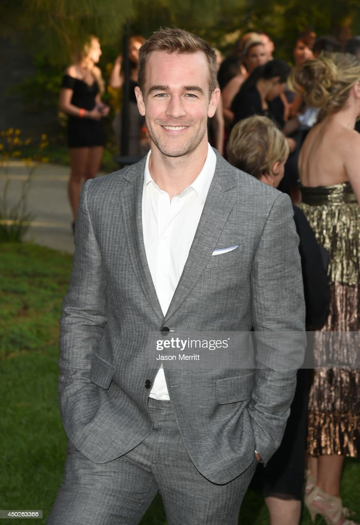Actor James Van Der Beek at the 13th Annual Chrysalis Butterfly Ball sponsored by Audi, Kayne Anderson and Stella Artois in Los Angeles on June 7th, 2014.