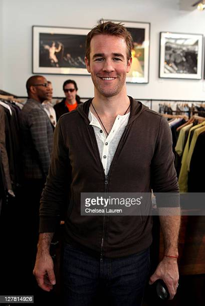 Actor James Van Der Beek attends John Varvatos 8th Annual Stuart House Benefit featuring KD Lang at John Varvatos Los Angeles on March 13 2011 in Los...