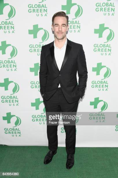Actor James Van Der Beek attends the 14th Annual Global Green Pre Oscar Party at TAO Hollywood on February 22 2017 in Los Angeles California