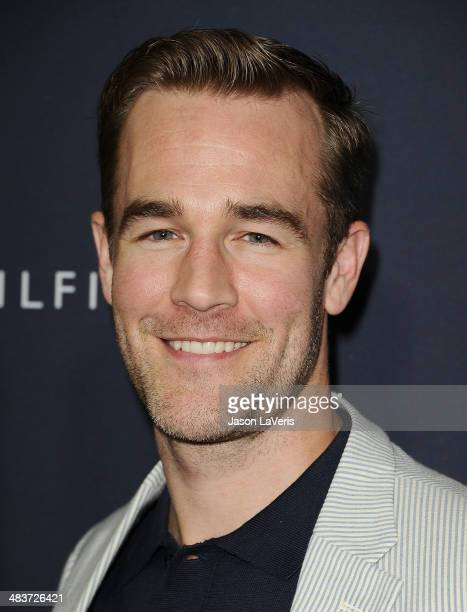 Actor James Van Der Beek attends the debut of Tommy Hilfiger's Capsule Collection at The London Hotel on April 9 2014 in West Hollywood California