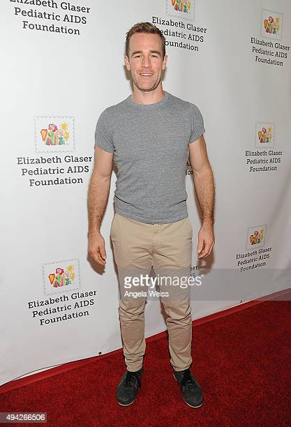 Actor James Van Der Beek attends the Elizabeth Glaser Pediatric AIDS Foundation's 26th Annual A Time For Heroes Family Festival at Smashbox Studios...