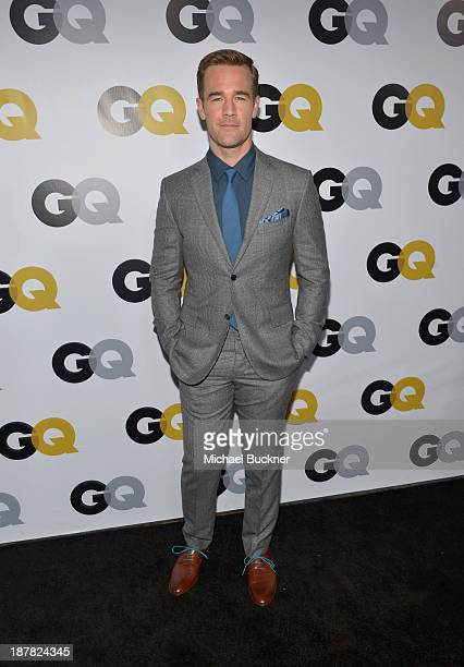 Actor James Van Der Beek attends the GQ Men Of The Year Party at The Ebell Club of Los Angeles on November 12 2013 in Los Angeles California