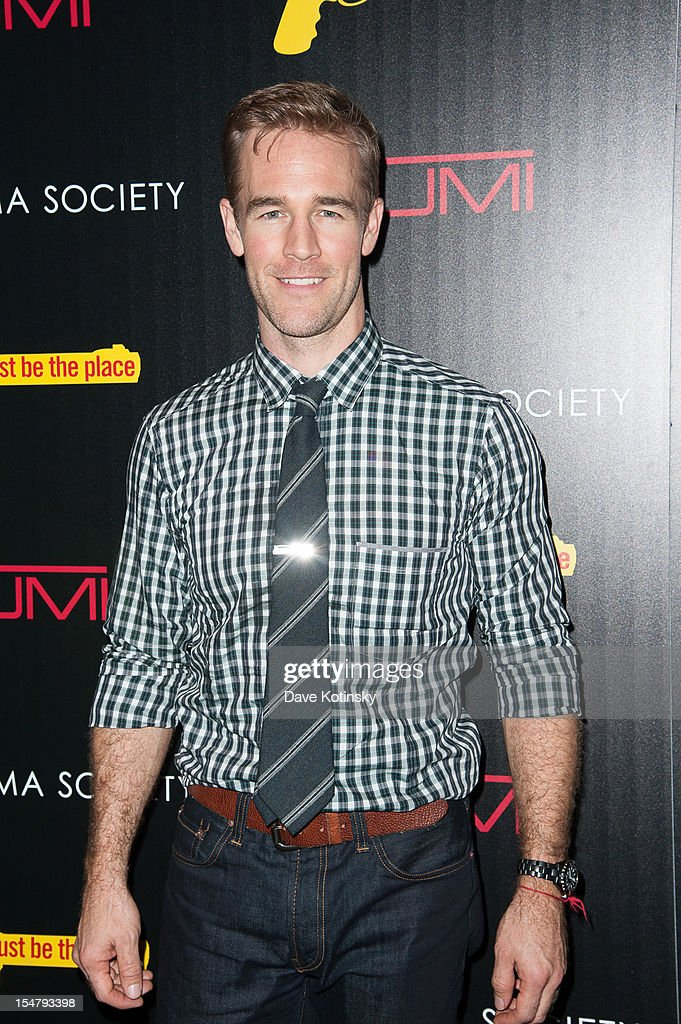 Actor James Van Der Beek attends The Weinstein Company With The Cinema Society And Tumi Host A Screening Of 'This Must Be the Place' at Tribeca Grand Hotel on October 25, 2012 in New York City.