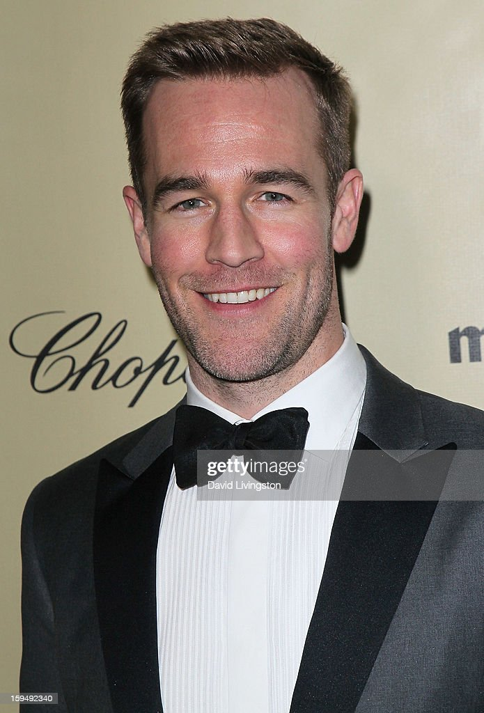 Actor James Van Der Beek attends The Weinstein Company's 2013 Golden Globe Awards After Party at The Beverly Hilton hotel on January 13, 2013 in Beverly Hills, California.