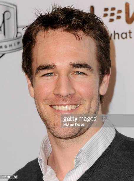 Actor James Van Der Beek attends the 'Who Killed The Music' Art Exhibit at Target Terrace Lounge on January 24 2010 in Los Angeles California