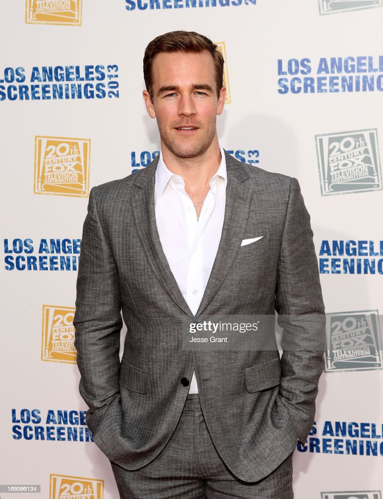 Actor James Van Der Beek attends Twentieth Century Fox Television Distribution's 2013 LA Screenings Lot Party at Twentieth Century Fox Studio Lot on May 23, 2013 in Los Angeles, California.