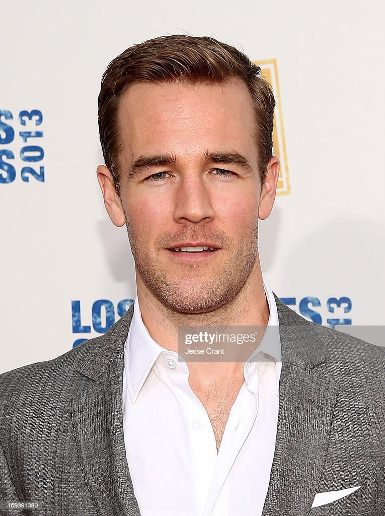 Actor <a gi-track='captionPersonalityLinkClicked' href=/galleries/search?phrase=James+Van+Der+Beek&family=editorial&specificpeople=539017 ng-click='$event.stopPropagation()'>James Van Der Beek</a> attends Twentieth Century Fox Television Distribution's 2013 LA Screenings Lot Party at Twentieth Century Fox Studio Lot on May 23, 2013 in Los Angeles, California.
