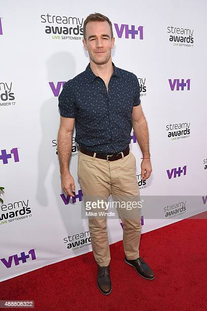 Actor James Van Der Beek attends VH1's 5th Annual Streamy Awards at the Hollywood Palladium on Thursday September 17 2015 in Los Angeles California