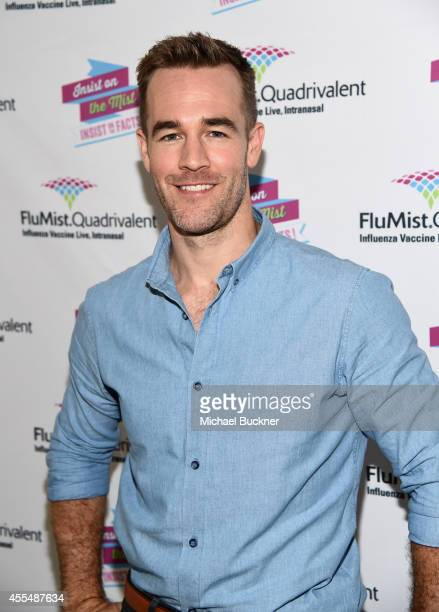 Actor James Van Der Beek insists on the facts about vaccination with FluMist® Quadrivalent on September 15 2014