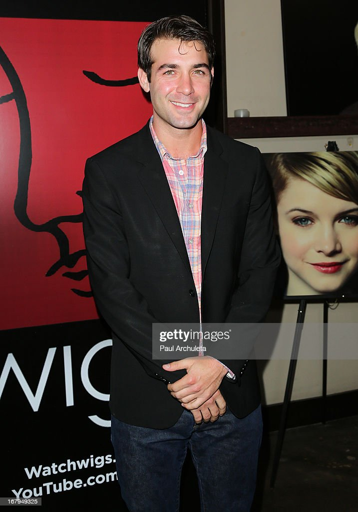Actor <a gi-track='captionPersonalityLinkClicked' href=/galleries/search?phrase=James+Wolk&family=editorial&specificpeople=6966494 ng-click='$event.stopPropagation()'>James Wolk</a> attends the one year anniversary celebration for the WIGS digital channel at Akasha Restaurant on May 2, 2013 in Culver City, California.