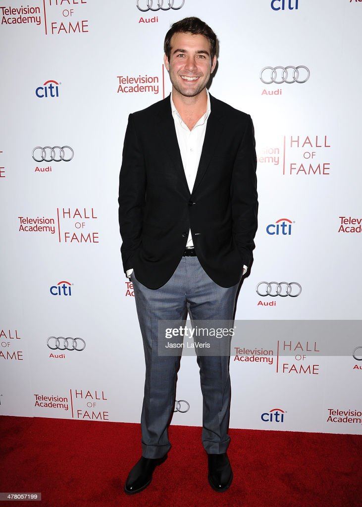 Actor <a gi-track='captionPersonalityLinkClicked' href=/galleries/search?phrase=James+Wolk&family=editorial&specificpeople=6966494 ng-click='$event.stopPropagation()'>James Wolk</a> attends the Television Academy's 23rd Hall of Fame induction gala at Regent Beverly Wilshire Hotel on March 11, 2014 in Beverly Hills, California.
