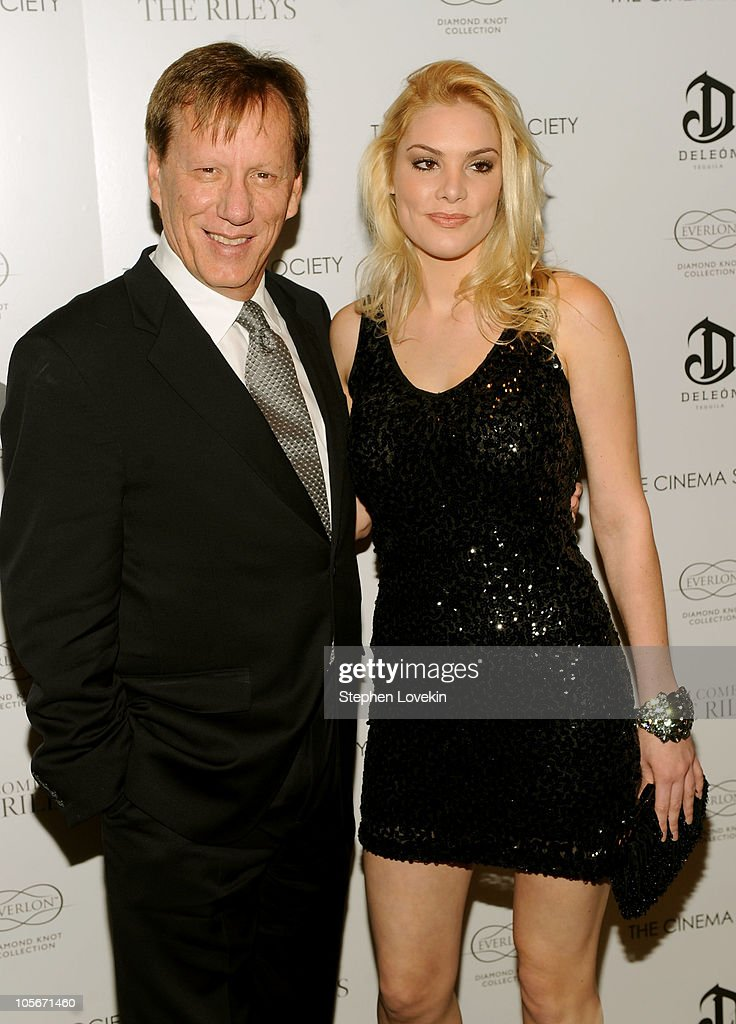 Actor James Woods and Ashley Madison attend The Cinema Society Everlon Diamond Knot Collection's screening of 'Welcome To The Rileys' on October 18...