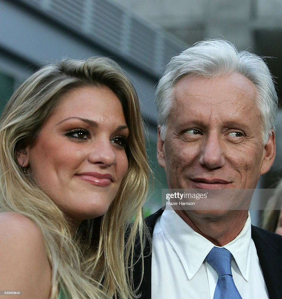 Actor James Woods and guest arrive at the premiere of Pretty Persuasion at the ArcLight Cinerama Dome on August 9 2005 in Los Angeles California