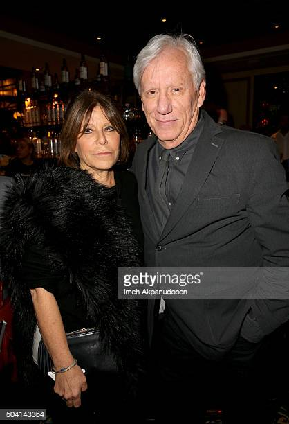 Actor James Woods and guest attend Ketel One Vodka Celebrates Excellence In Cinema with 'Spotlight' PreGolden Globe Celebration at Bouchon on January...