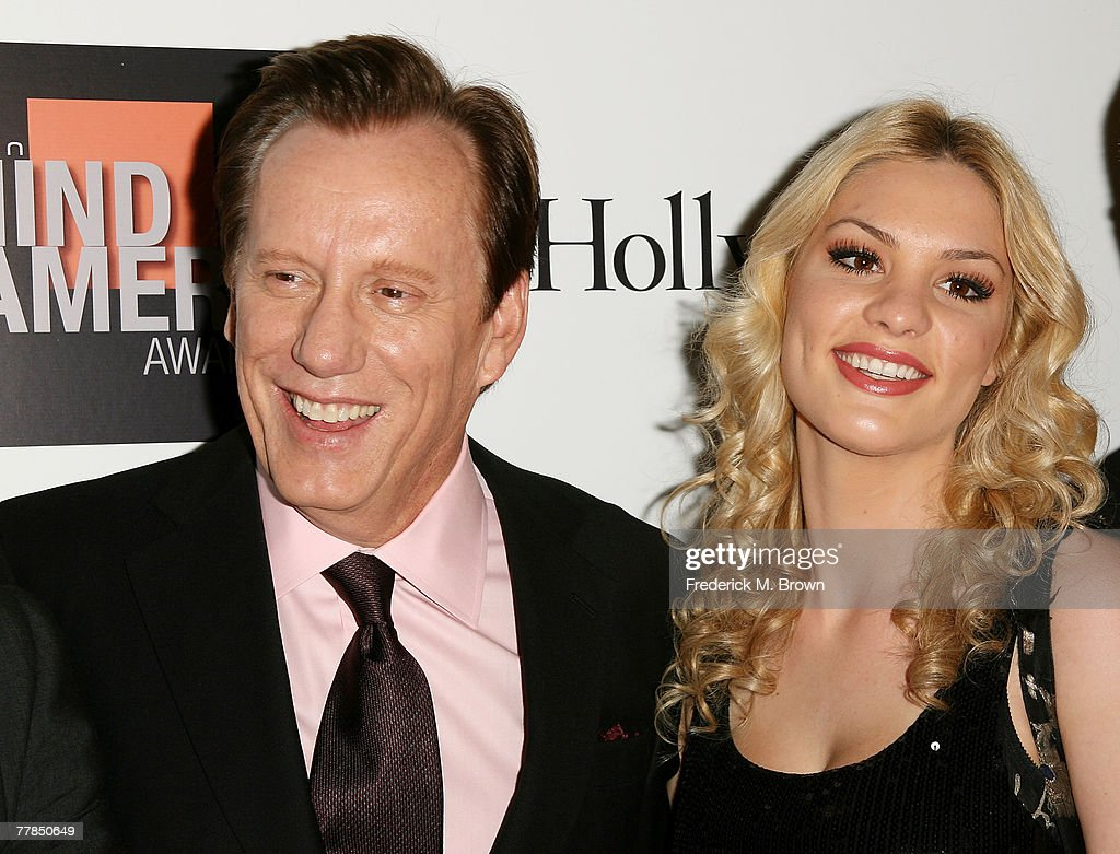 Actor James Woods and his guest attend the Fifth Annual Hamilton and Hollywood Life's Behind the Camera Awards at the Highlands on November 11 2007...