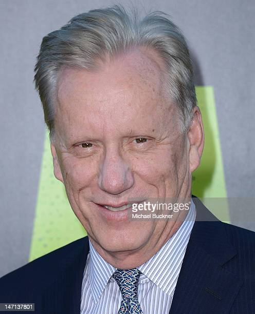 Actor James Woods arrives at the premiere of Universal Pictures' 'Savages' at Westwood Village on June 25 2012 in Los Angeles California