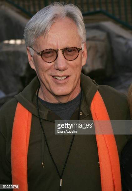 Actor James Woods waks at The Village At The Lift during the 2005 Sundance Film Festival on January 23 2005 in Park City Utah