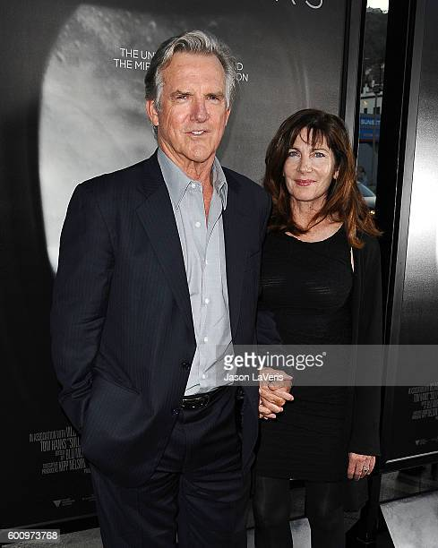 Actor Jamey Sheridan and actress Colette Kilroy attend a screening of 'Sully' at Directors Guild Of America on September 8 2016 in Los Angeles...