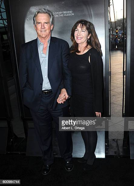 Actor Jamey Sheridan and Colette Kilroy arrive the Screening Of Warner Bros Pictures' 'Sully' held at Directors Guild Of America on September 8 2016...