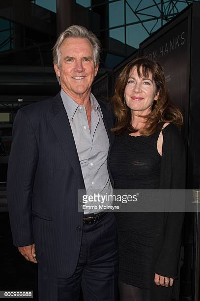 Actor Jamey Sheridan and Colette Kilroy attend the screening of Warner Bros Pictures' 'Sully' at Directors Guild Of America on September 8 2016 in...