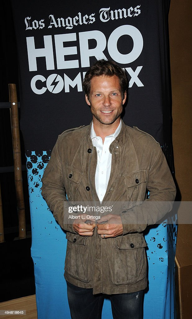 Actor Jamie Bamber arrives for the 5th Annual Hero Complex Film Festival - 'Battlestar Galactica' Screening and Q&A held at the TCL Chinese Theater on May 30, 2014 in Hollywood, California.