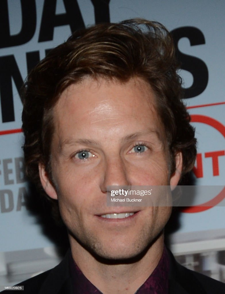 Actor <a gi-track='captionPersonalityLinkClicked' href=/galleries/search?phrase=Jamie+Bamber&family=editorial&specificpeople=4238397 ng-click='$event.stopPropagation()'>Jamie Bamber</a> attends 'Monday Mornings' Premiere Reception at at BOA Steakhouse on January 24, 2013 in West Hollywood, California. (Photo by Michael Buckner/WireImage) 23200_001_MB_0086.jpg