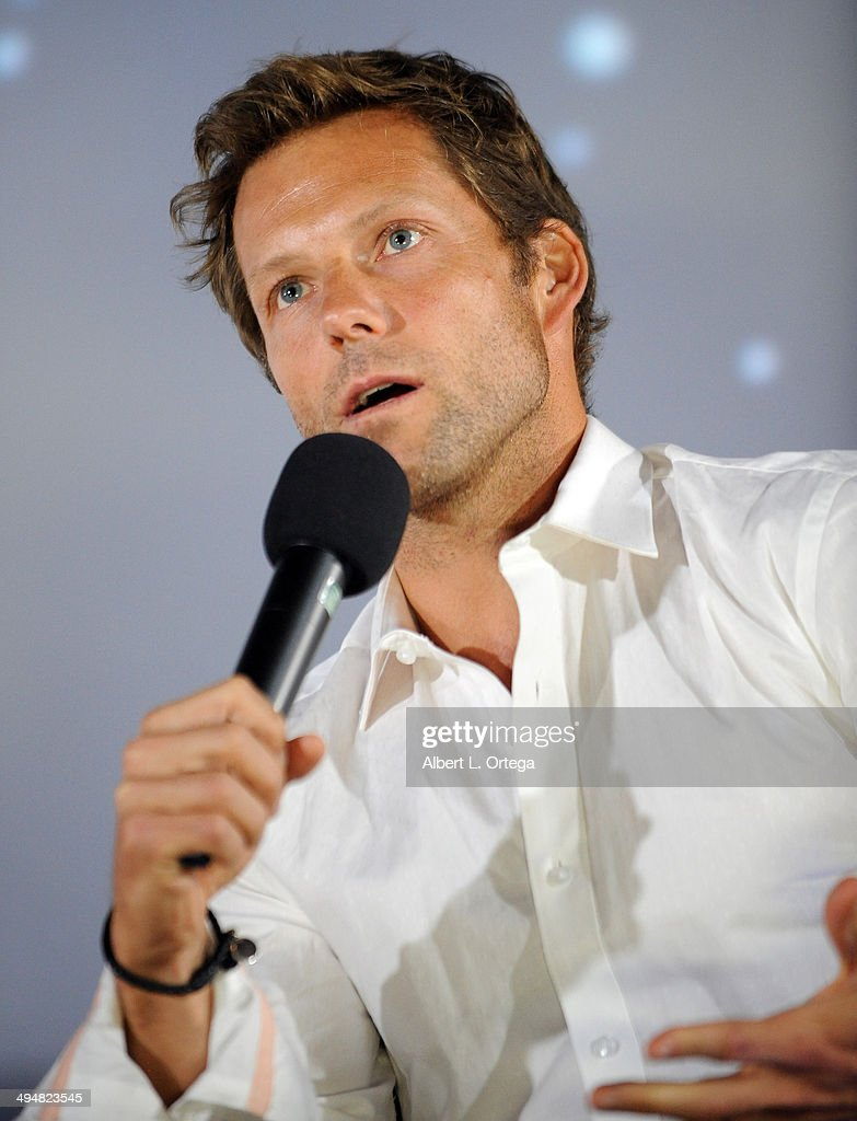 Actor Jamie Bamber participates in the 5th Annual Hero Complex Film Festival - 'Battlestar Galactica' Screening and Q&A held at the TCL Chinese Theater on May 30, 2014 in Hollywood, California.