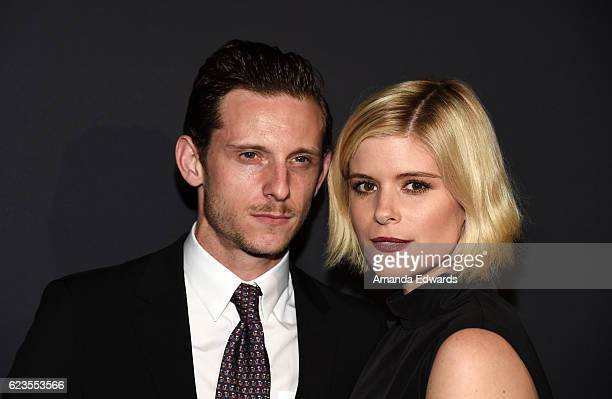 Actor Jamie Bell and actress Kate Mara arrive at a screening of David O Russell's 'Past Forward' hosted by Prada at Hauser Wirth Schimmel on November...