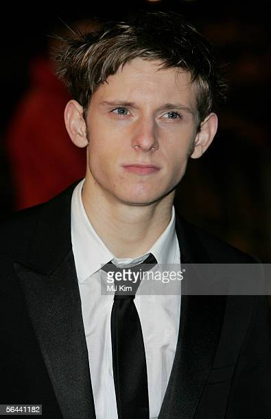 Actor Jamie Bell arrives at the UK Premiere of 'King Kong' at the Odeon Leicester Square on December 8 2005 in London England