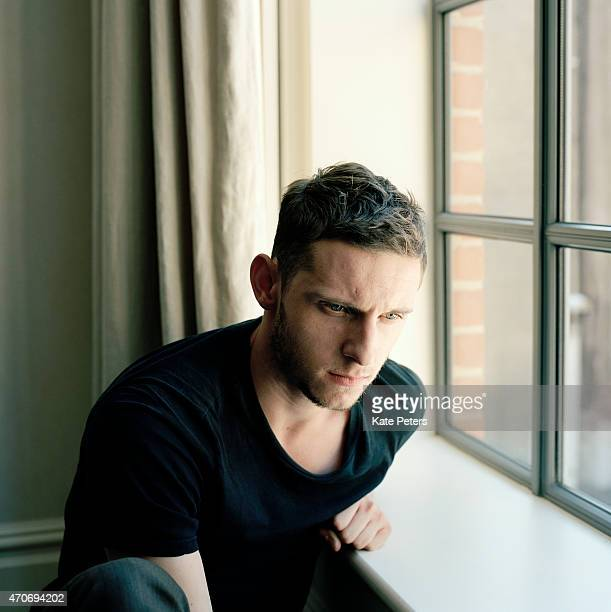 Actor Jamie Bell is photographed for the Telegraph on October 6 2011 in London England