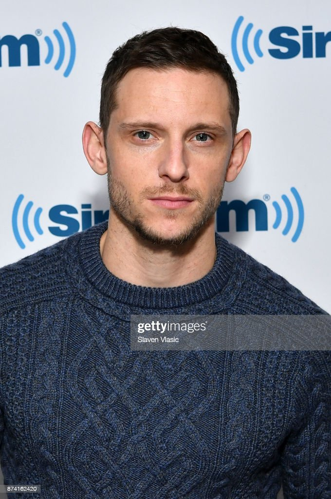 Actor Jamie Bell visits SiriusXM Studios on November 14, 2017 in New York City.