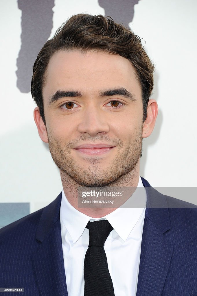 Actor <a gi-track='captionPersonalityLinkClicked' href=/galleries/search?phrase=Jamie+Blackley&family=editorial&specificpeople=9154654 ng-click='$event.stopPropagation()'>Jamie Blackley</a> arrives at the Los Angeles Premiere of 'If I Stay' at TCL Chinese Theatre on August 20, 2014 in Hollywood, California.