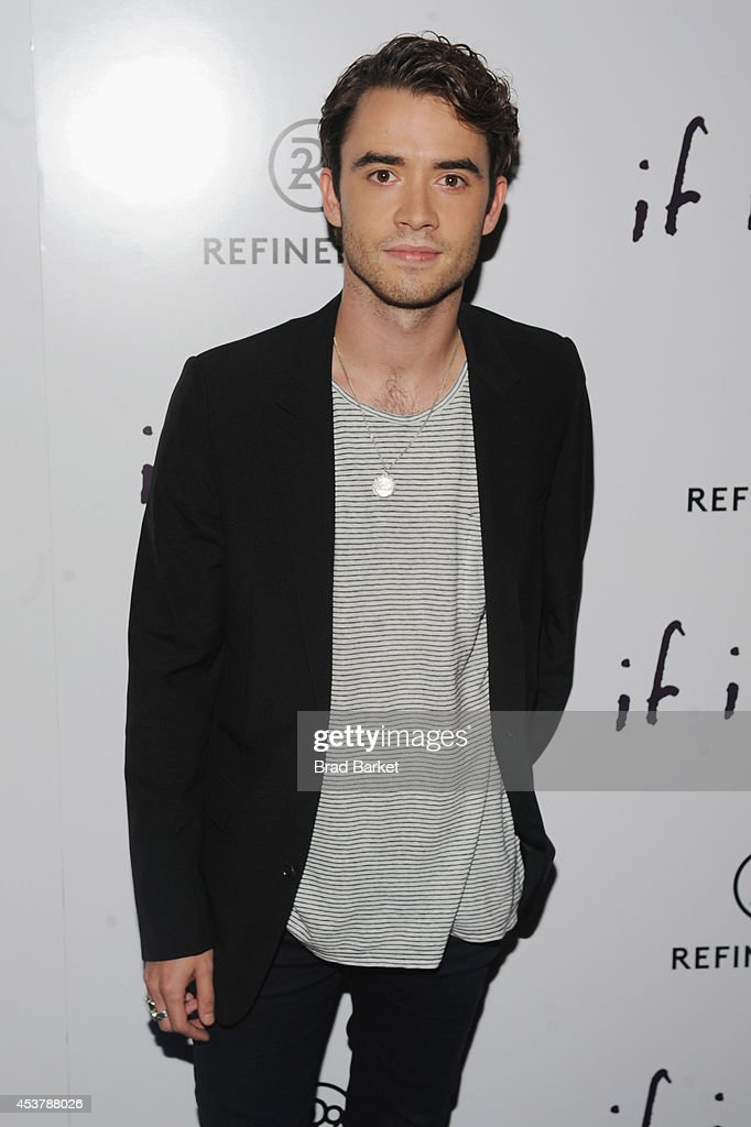 Actor <a gi-track='captionPersonalityLinkClicked' href=/galleries/search?phrase=Jamie+Blackley&family=editorial&specificpeople=9154654 ng-click='$event.stopPropagation()'>Jamie Blackley</a> attends the 'If I Stay' New York Premiere at Landmark's Sunshine Cinema on August 18, 2014 in New York City.