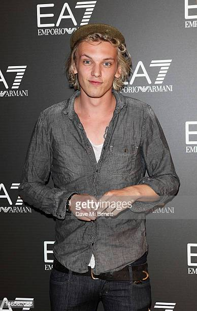 Actor Jamie Campbell Bower attends as EA7 Emporio Armani Summer Garden Live presents Summer of Sport at Emporio Armani on June 19 2012 in London...