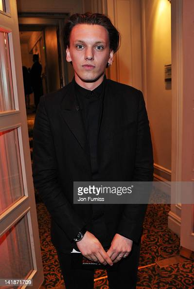 Actor Jamie Campbell Bower attends the Jameson Empire Awards 2012 at Grosvenor House on March 25 2012 in London England