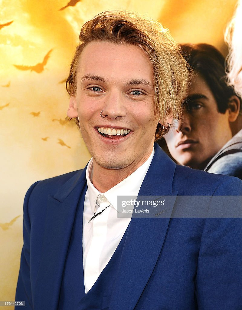 Actor <a gi-track='captionPersonalityLinkClicked' href=/galleries/search?phrase=Jamie+Campbell+Bower&family=editorial&specificpeople=4586724 ng-click='$event.stopPropagation()'>Jamie Campbell Bower</a> attends the premiere of 'The Mortal Instruments: City Of Bones' at ArcLight Cinemas Cinerama Dome on August 12, 2013 in Hollywood, California.